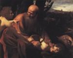 Le sacrifice d'Isaac, Caravage, 1602, Musée des Offices