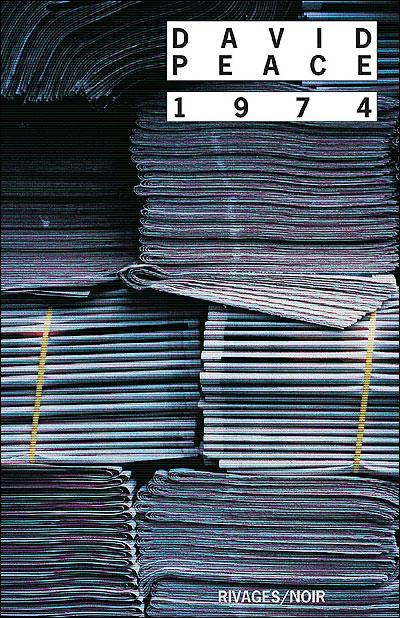 #3-Carré mauve sur fond noir : David Peace, 1974