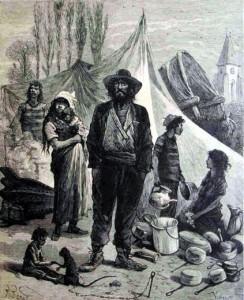 Bohémiens au XIXè siècle
