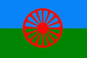 Le drapeau Rom adopté en 1971