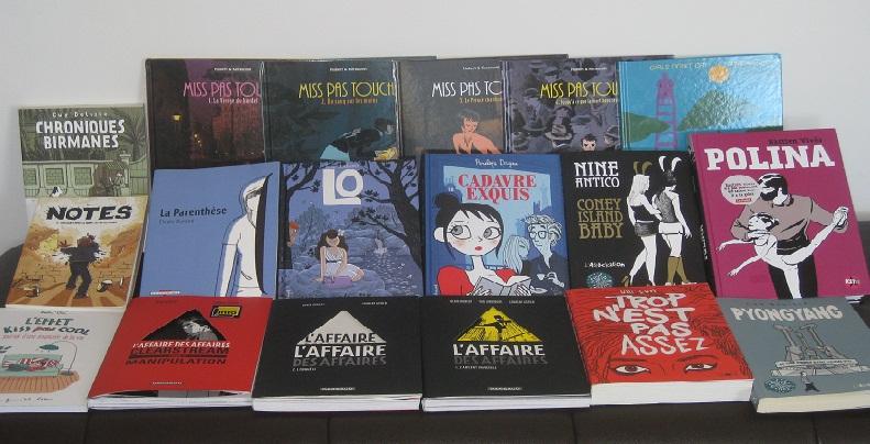 #Etés 2011 – Des BD pour l'été