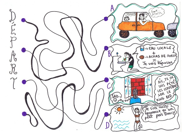 #Etés 2011 – Le jeu de la ficelle : devez-vous partir en vacances ?