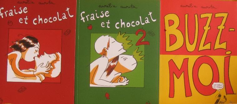 #9-BD : Fraise et chocolat d'Aurélie Aurita