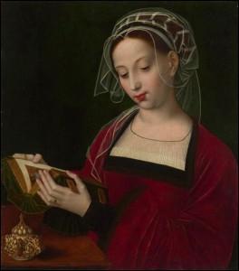 Ambrosius Benson, Marie-Madeleine lisant, vers 1525.