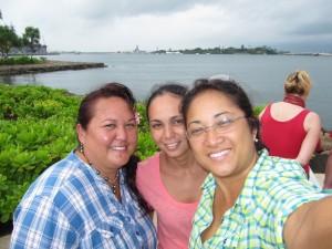 Vaihere, Heirani et Nathalie